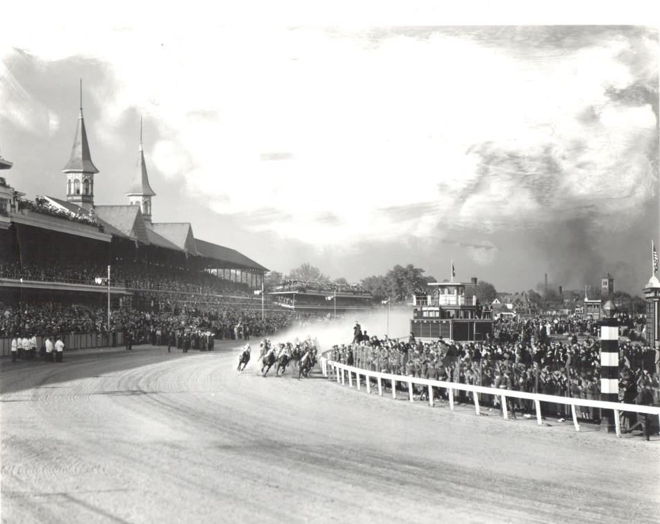 1937 Derby First Turn