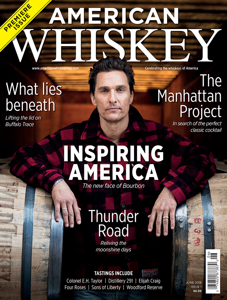 American Whiskey – Issue 1 cover