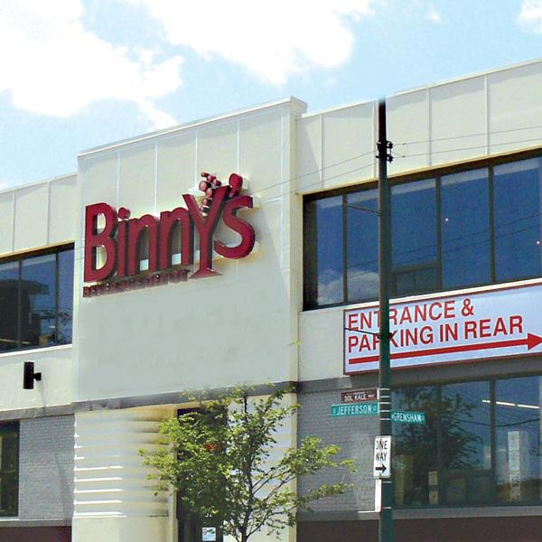 Binny's Beverage Depot exterior