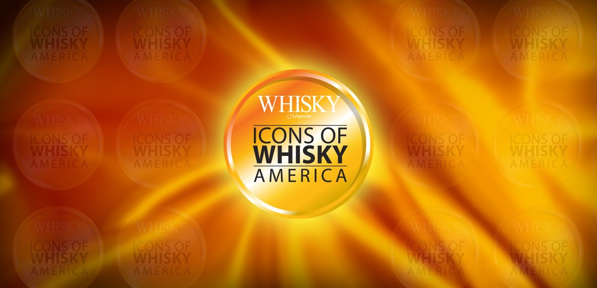 Icons of Whisky America logo header