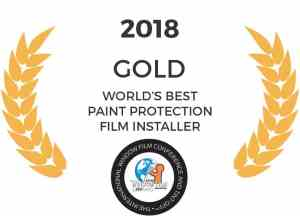 Tyler O'Hara World's Best Paint Protection Film Installer Gold Medalist 2018