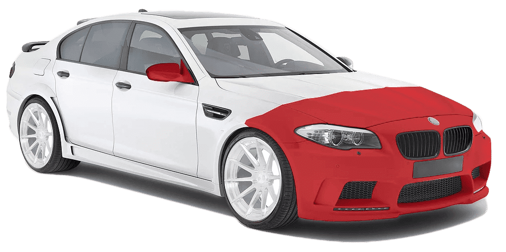 Paint Protection Film coverage level 2