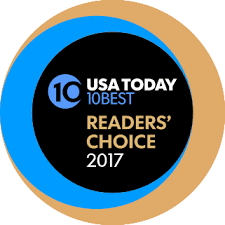 USA Today 10Best, Readers' Choice 2017