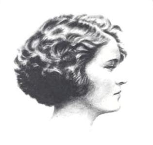 Zelda Fitzgerald in profile