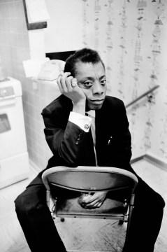 Photo of James Baldwin. Courtesy of Art Shay Archives