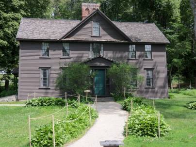 Louisa May Alcott's Orchard House, located in Concord, Massachusetts, is an Author Home Affiliate of the American Writers Museum in Chicago, Illinois.