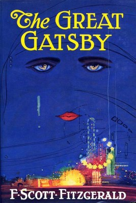 Blue cover of The Great Gatsby