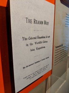 The Reason Why pamphlet facsimile at the American Writers Museum
