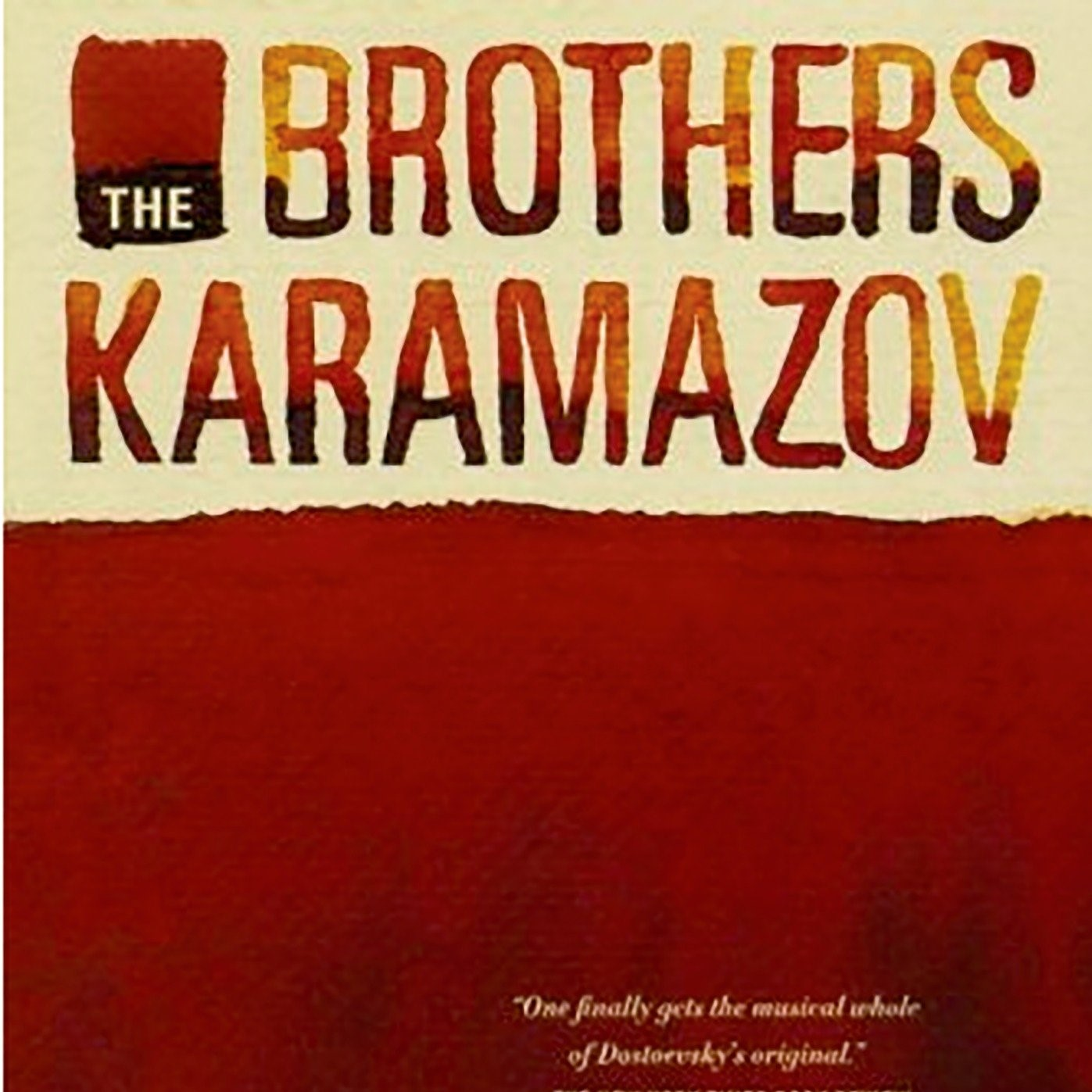 The Brother Karamazov cover image. Roll over for description