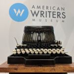 Jack London's typewriter on display at the American Writers Museum in Chicago