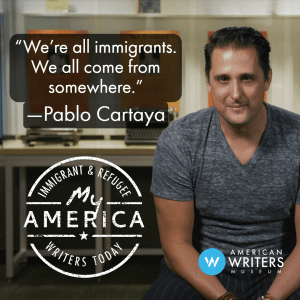 Pablo Cartaya featured in My America exhibit at the American Writers Museum