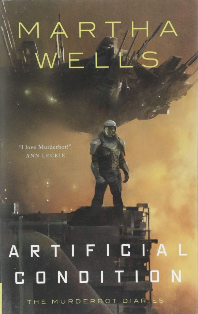 Artificial Condition by Martha Wells is recommended by the American Writers Museum