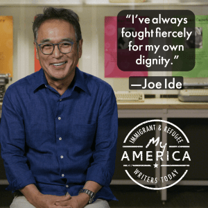 """Joe Ide featured in the """"My America"""" exhibit at the American Writers Museum"""