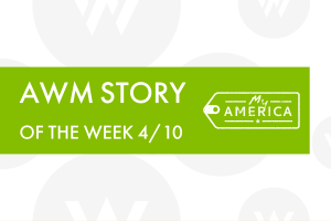 American Writers Museum Story of the Week blog post featuring visitor stories 4/10/2020