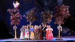 Into the Woods with Book by James Lapine and Music and Lyrics by Stephen Sondheim