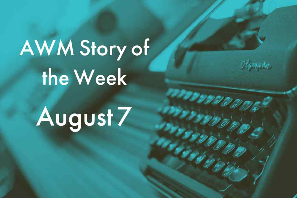 American Writers Museum Story of the Week for August 7, 2020
