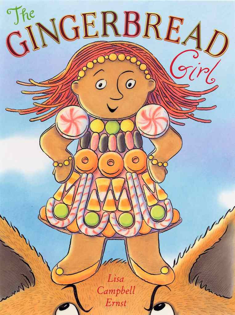 The Gingerbread Girl by Lisa Campbell Ernst book cover