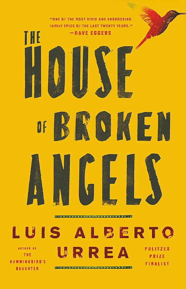 The House of Broken Angels by Luis Alberto Urrea book cover