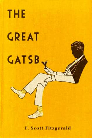 The Great Gatsby by F. Scott Fitzgerald book cover