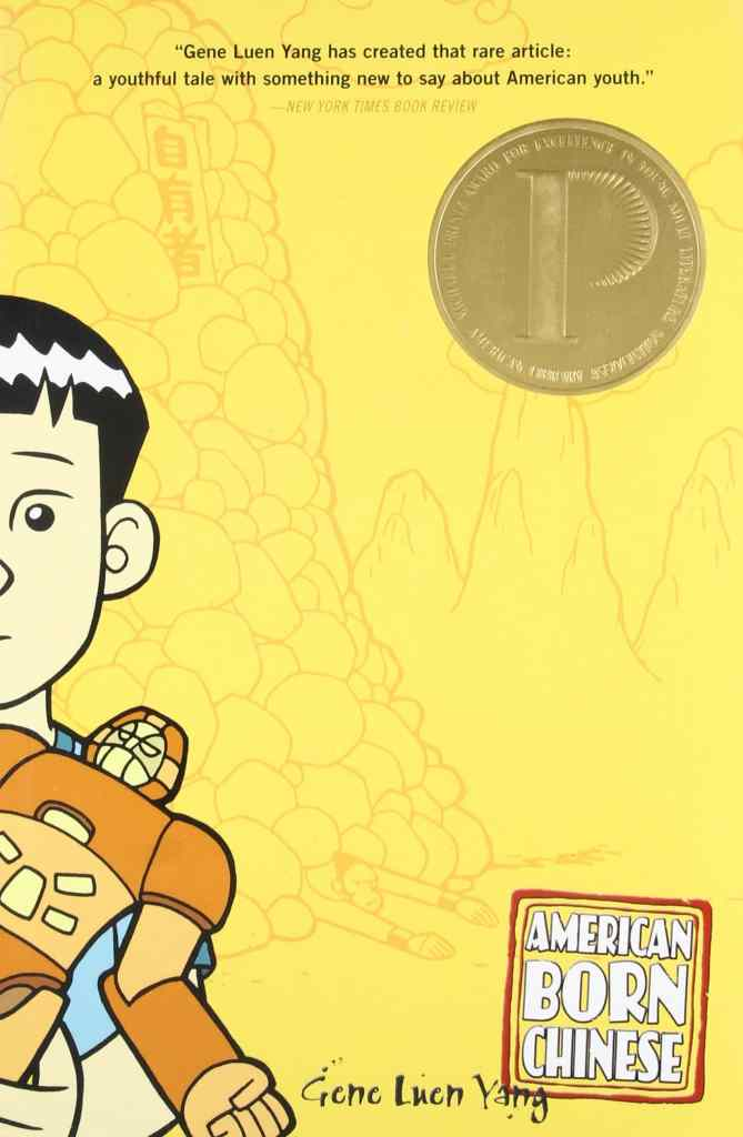 American Born Chinese by Gene Luen Yang book cover