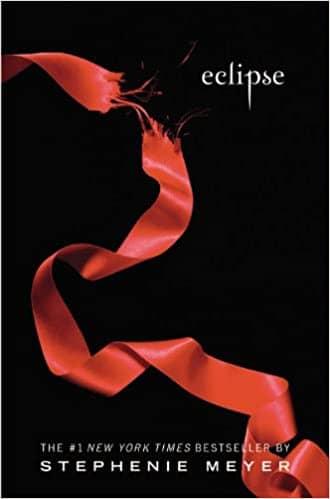 Eclipse by Stephenie Meyer book cover