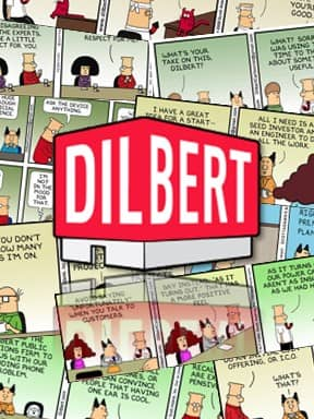 Dilbert comic strips cover