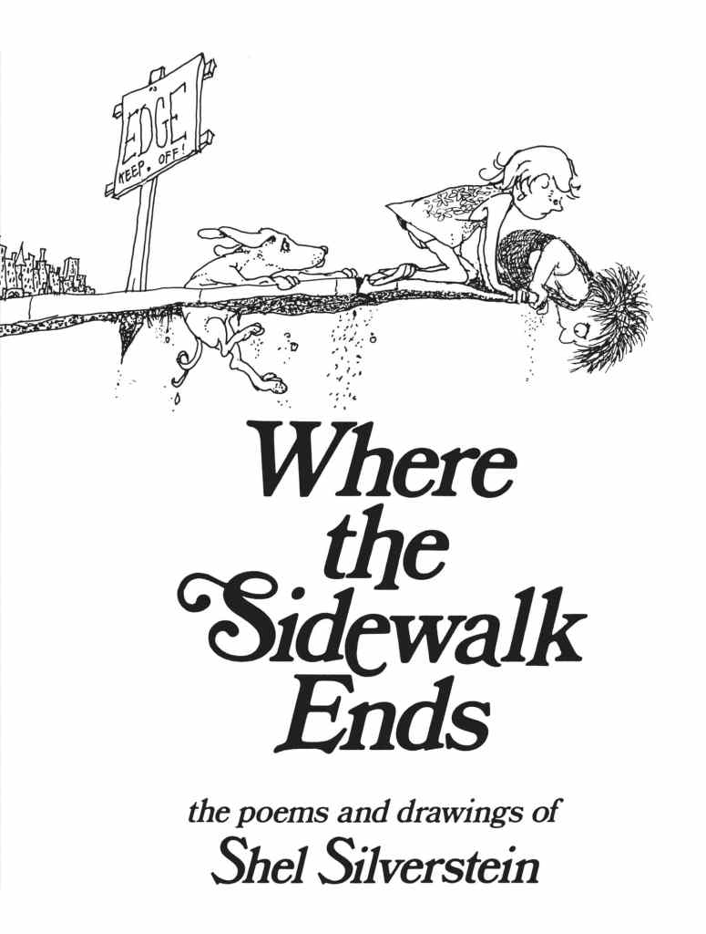 Where the Sidewalk Ends by Shel Silverstein book cover