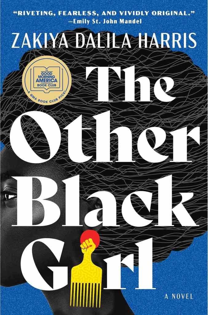 The Other Black Girl by Zakiya Dalila Harris book cover