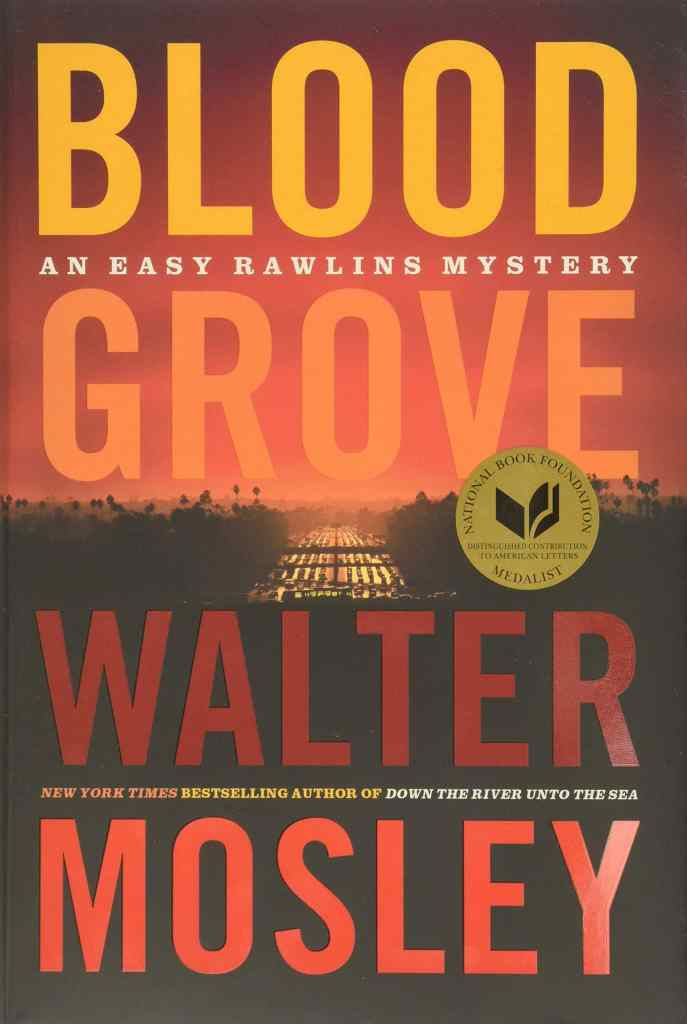 Blood Grove by Walter Mosley book cover
