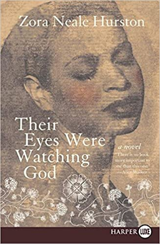 Their Eyes Were Watching God by Zora Neale Hurston book cover