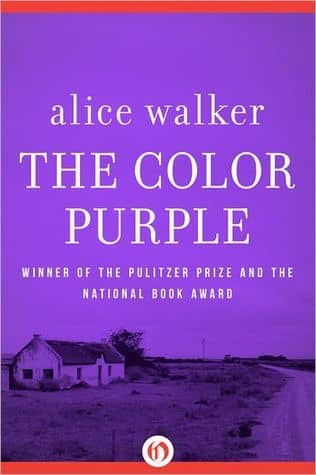 The Color Purple by Alice Walker book cover