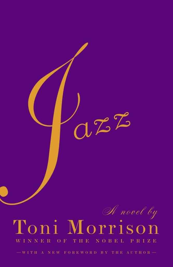 Jazz by Toni Morrison book cover
