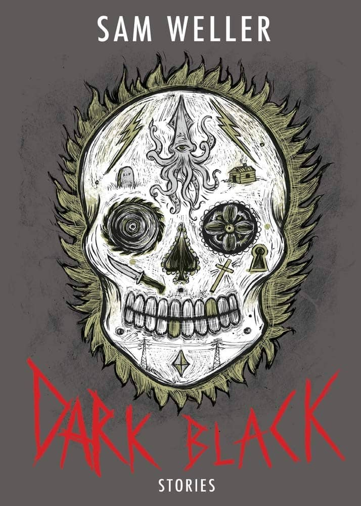 Dark Black by Sam Weller book cover