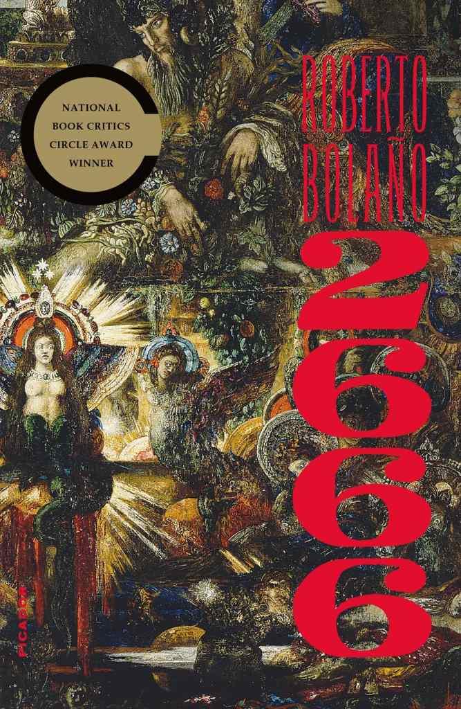 2666 by Roberto Bolaño book cover