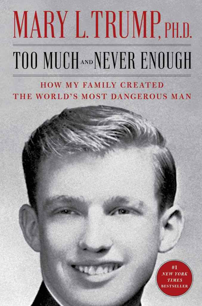 Too Much and Never Enough: How My Family Created the World's Most Dangerous Man by Mary L. Trump book cover