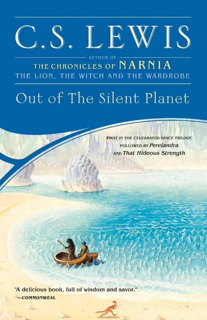 Out of the Silent Planet by C.S. Lewis book cover