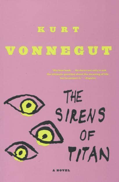 The Sirens of Titan by Kurt Vonnegut book cover