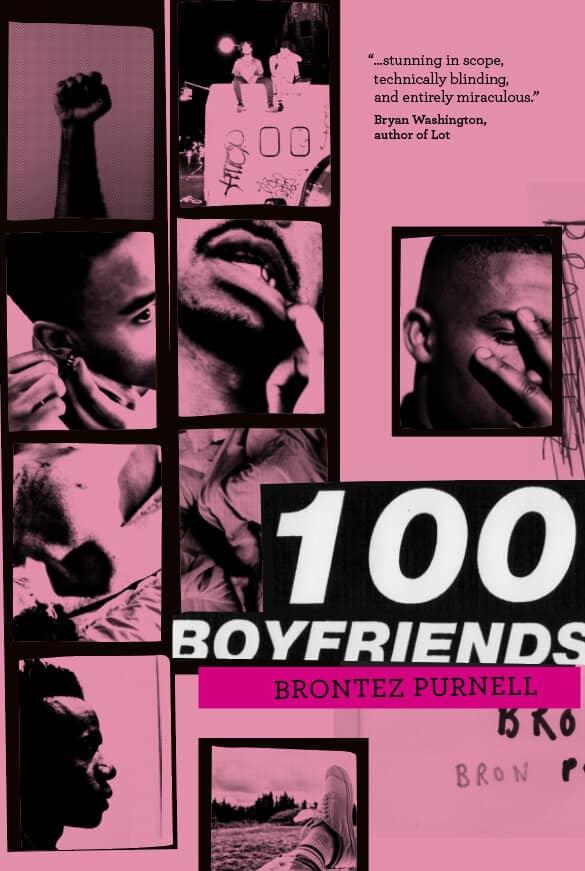100 Boyfriends by Brontez Purnell book cover