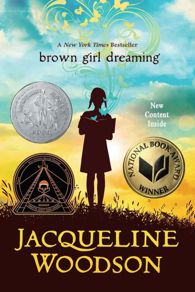 Brown Girl Dreaming by Jacqueline Woodson book cover