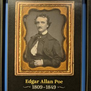 Phot of Edgar Allan Poe content in the American Writers Museum