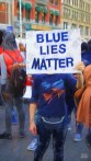Blue lies matter
