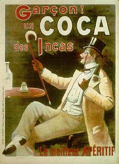 reklame for coca te  - det var dengang
