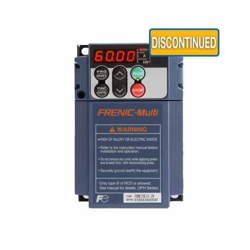 FRENIC Multi   1 to 3 Phase VFD   3 Phase Variable Frequency Drive     FRENIC Multi   1 to 3 Phase VFD   3 Phase Variable Frequency Drive   Fuji  Electric Corp  of America