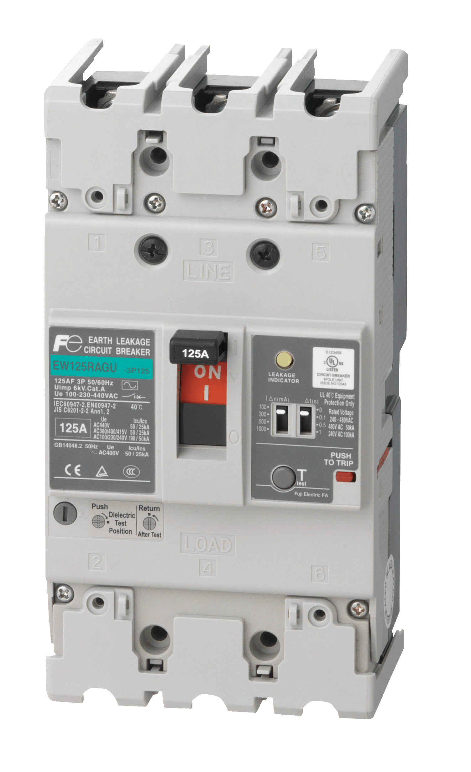 Earth Leakage    Circuit       Breaker     ELCB Manufacturer   Fuji