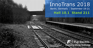 Visit Fuji Electric at InnoTrans 2018 in Berlin Germany
