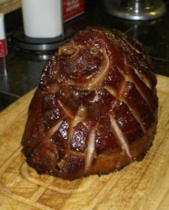 Texas Style Christmas Ham