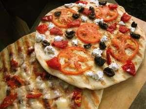 King Arthur Flour Grilled Pizza