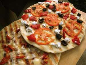 King Arthur Flour Grilled Pizza