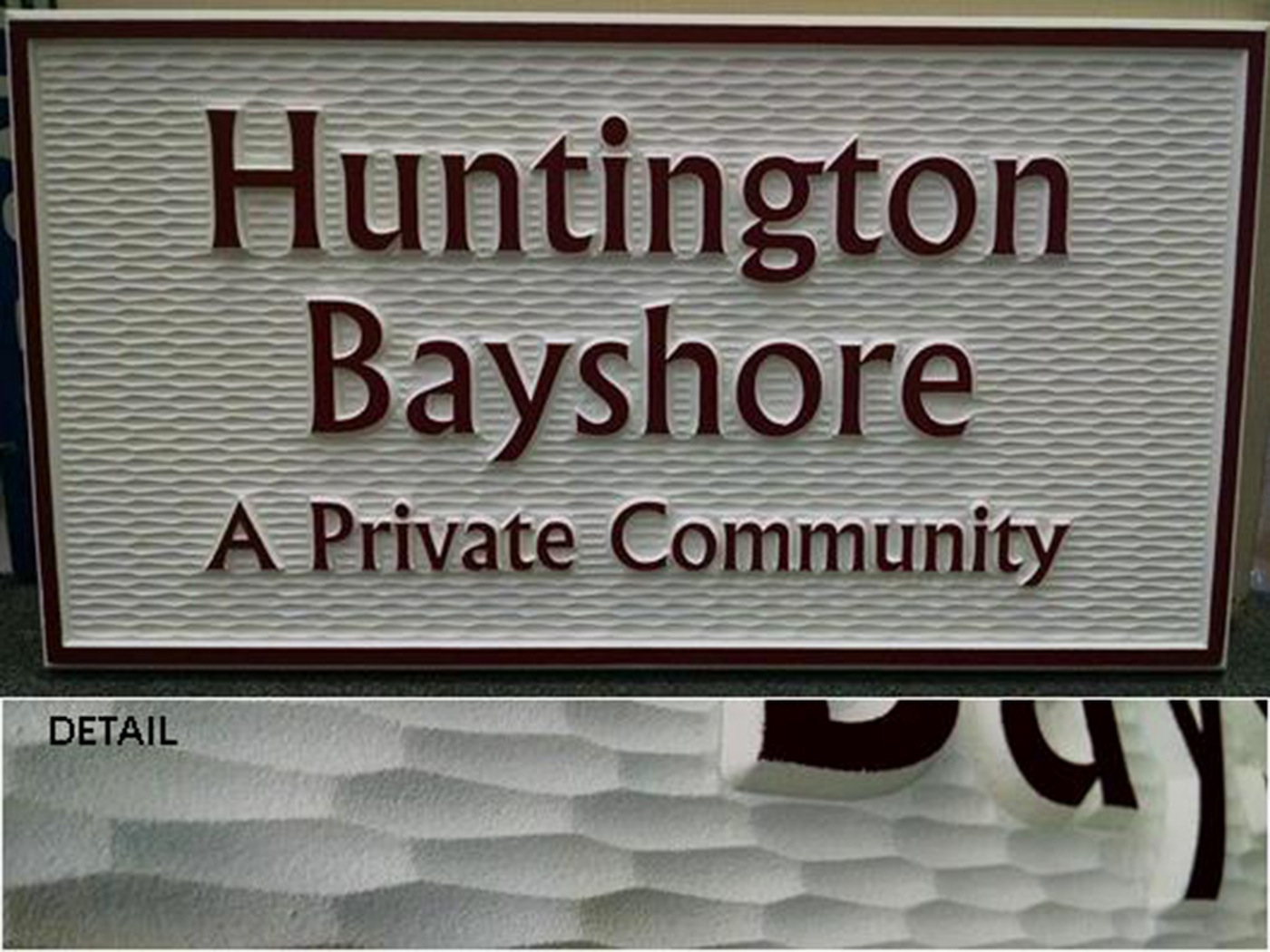 Exterior Signs Sandblasted Signs America S Instant Signs