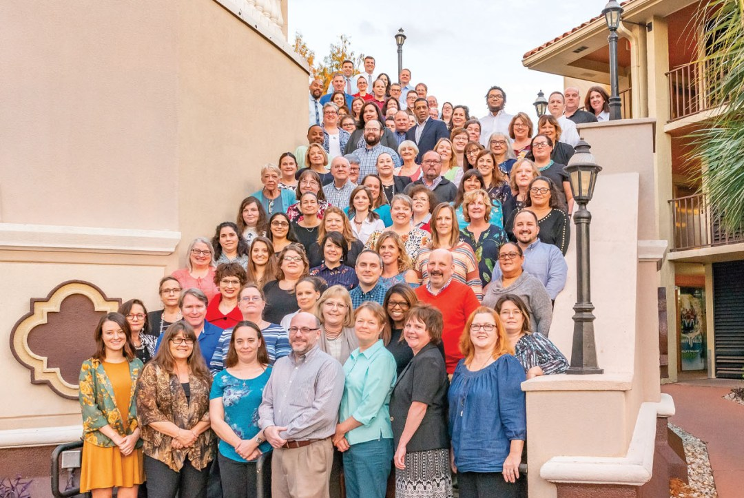 Group Photo of Eastern National Staff in Florida